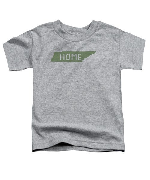 Tennessee Home Green Toddler T-Shirt