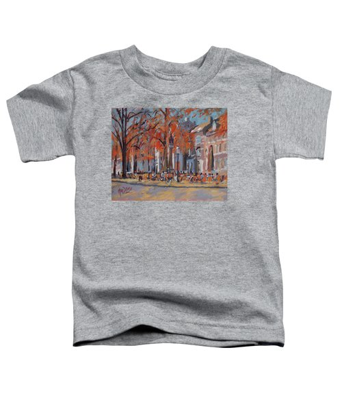 Terrace In The Grand Tanners Street Maastricht Toddler T-Shirt