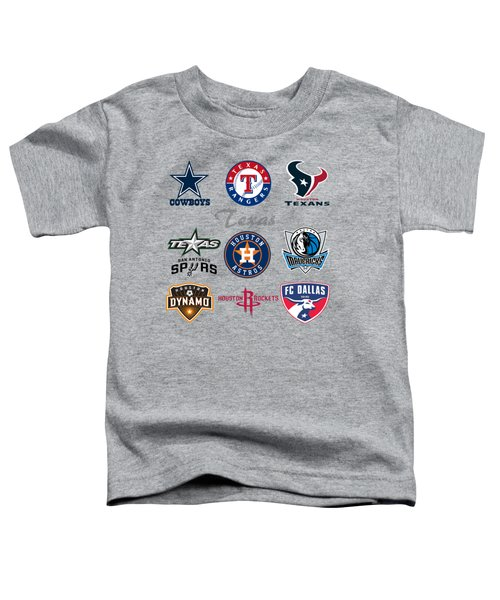 Texas Professional Sport Teams Toddler T-Shirt
