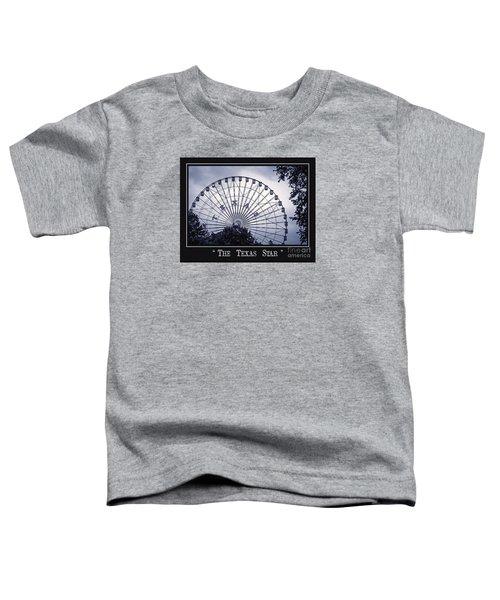 Texas Star In Blue Toddler T-Shirt