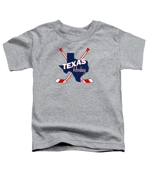 Texas State Hockey Toddler T-Shirt by Summer Myers