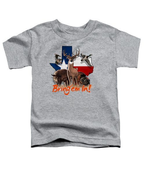 Texas Total Package Toddler T-Shirt