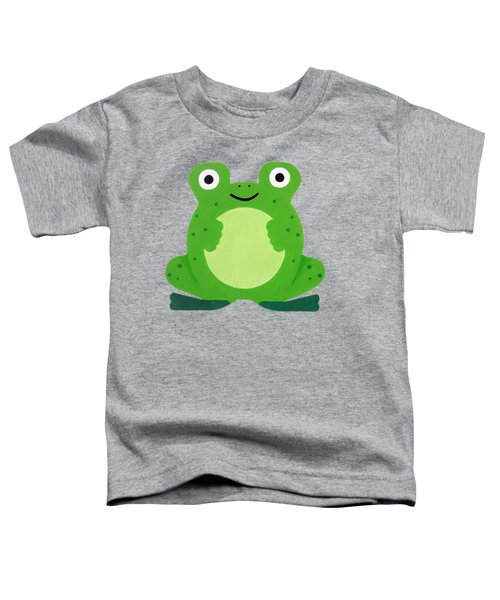 Tfrogle Toddler T-Shirt by Oliver Johnston