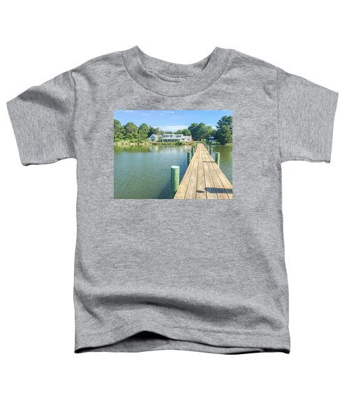 The Abbey On Cooper Point Toddler T-Shirt