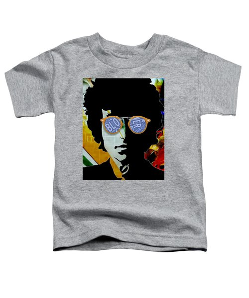 The Answer Is Blowin' In The Wind. Bob Dylan Toddler T-Shirt