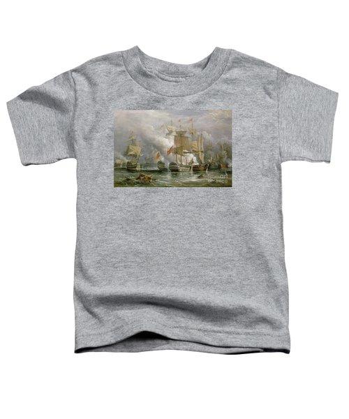 The Battle Of Cape St Vincent Toddler T-Shirt