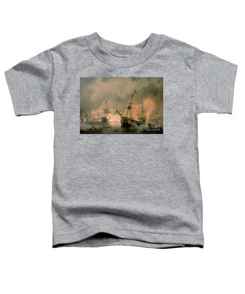 The Battle Of Navarino Toddler T-Shirt
