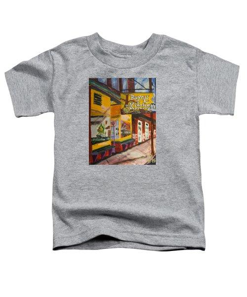 The Bayou Kitchen Toddler T-Shirt