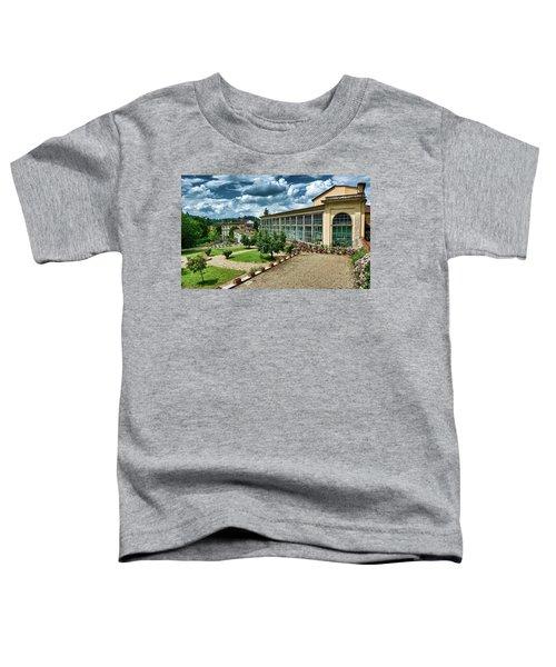 The Beauty Of The Boboli Gardens Toddler T-Shirt
