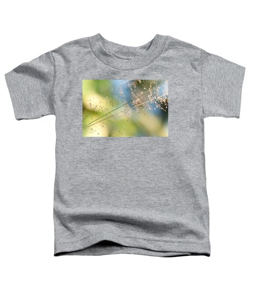 The Beauty Of The Earth. Natural Watercolor Toddler T-Shirt