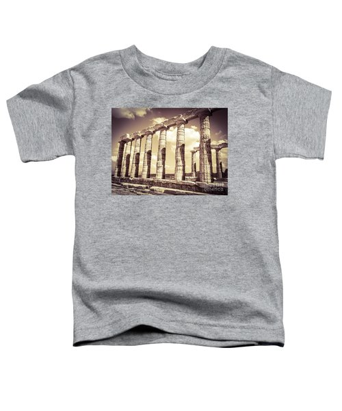 The Beauty Of The Temple Of Poseidon Toddler T-Shirt