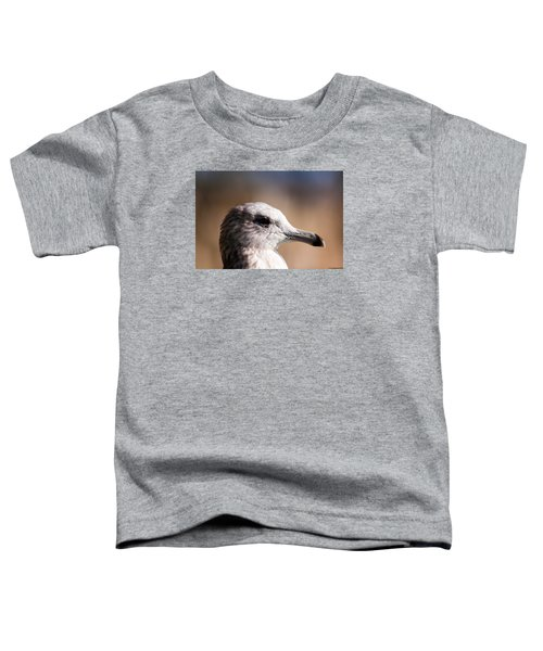 Toddler T-Shirt featuring the photograph The Best Side Of The Gull by Lora Lee Chapman