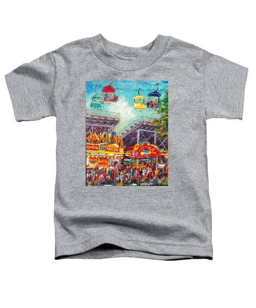 The Big Cheese Toddler T-Shirt