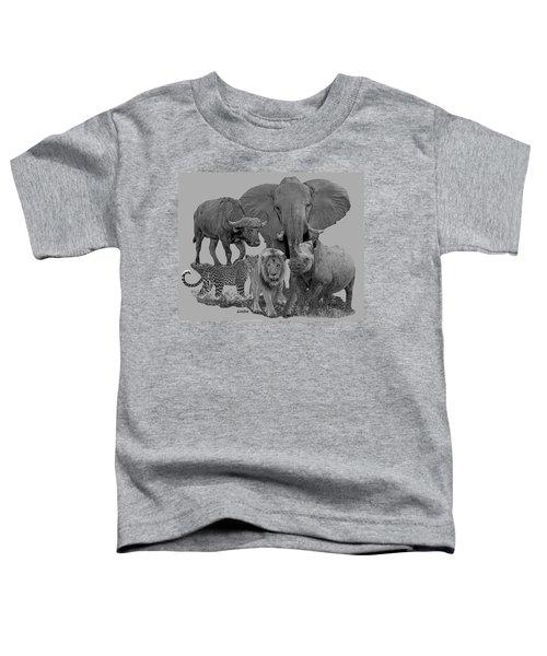 The Big Five Toddler T-Shirt