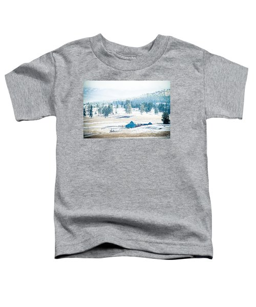 The Blue Barn Toddler T-Shirt