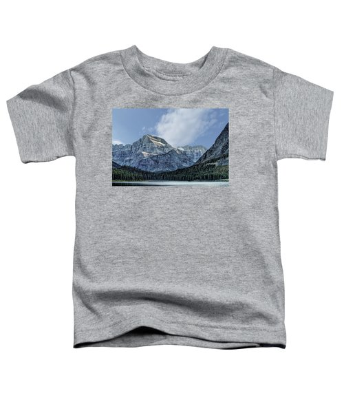 The Blue Mountains Of Glacier National Park Toddler T-Shirt