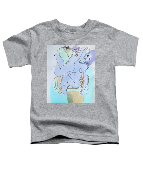 The Blue Nude Toddler T-Shirt