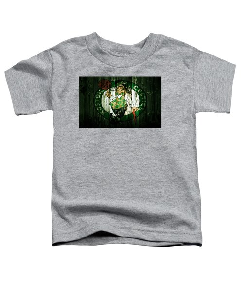 The Boston Celtics 5d Toddler T-Shirt by Brian Reaves