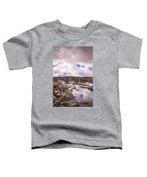 The Bridge At Sligachan On Skye Toddler T-Shirt