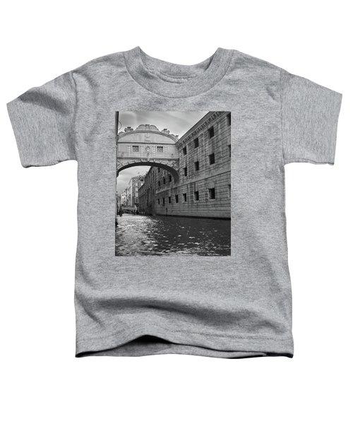 The Bridge Of Sighs, Venice, Italy Toddler T-Shirt