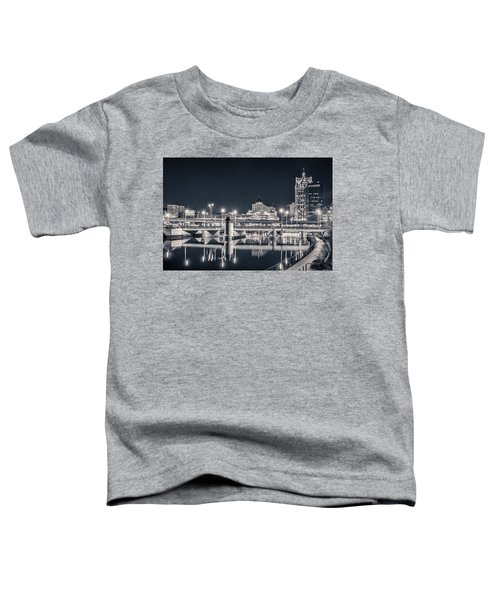 Toddler T-Shirt featuring the photograph The Bright Dark Of Night by Bill Pevlor