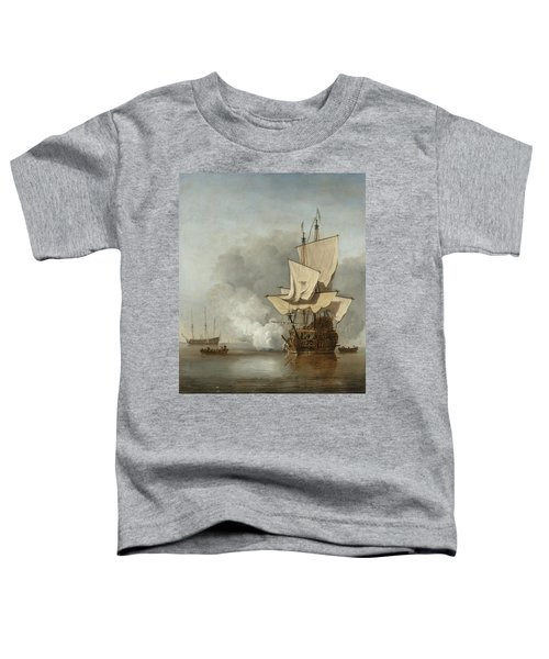 The Cannon Shot Toddler T-Shirt