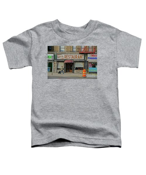 The Capitol Toddler T-Shirt by Cole Thompson