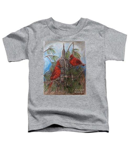 The Cardinals Visit St.pauls Cathedral Toddler T-Shirt