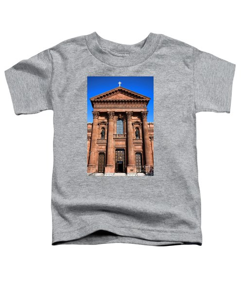 The Cathedral Basilica Of Saints Peter And Paul Toddler T-Shirt