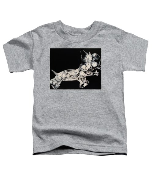 The Chase Bw Toddler T-Shirt