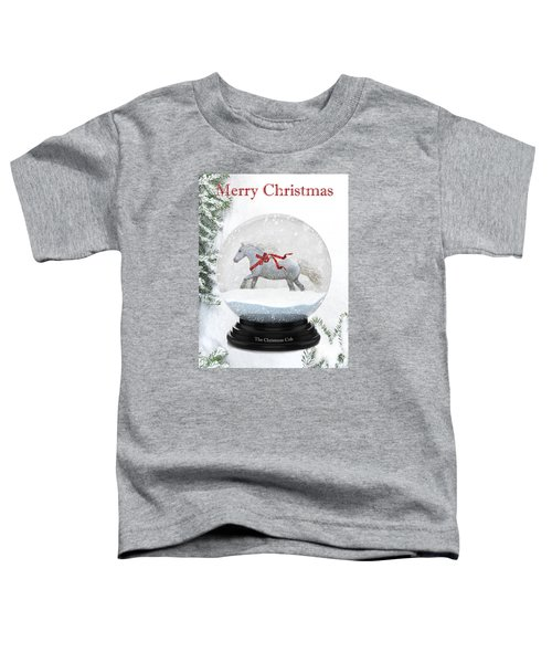 The Christmas Cob Toddler T-Shirt