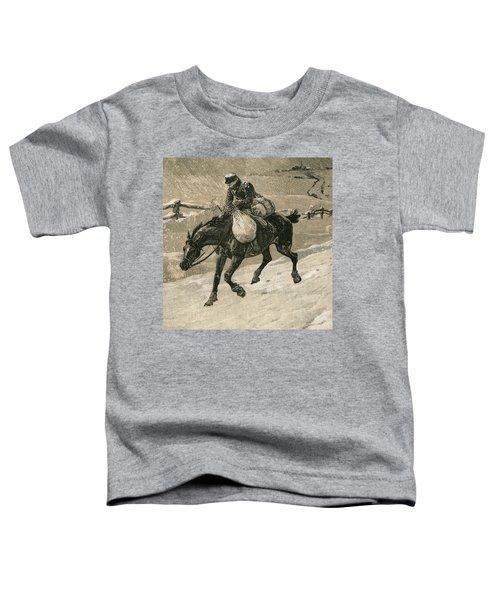 The Christmas Postman Toddler T-Shirt