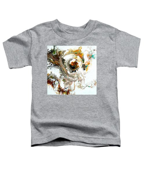 Toddler T-Shirt featuring the painting The Circle Of Life by Joanne Smoley
