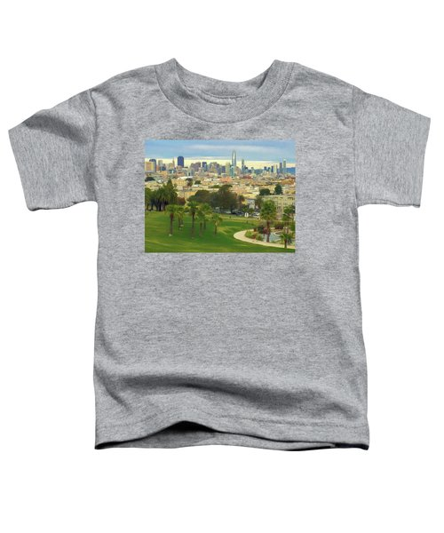 The City From Dolores Park Toddler T-Shirt