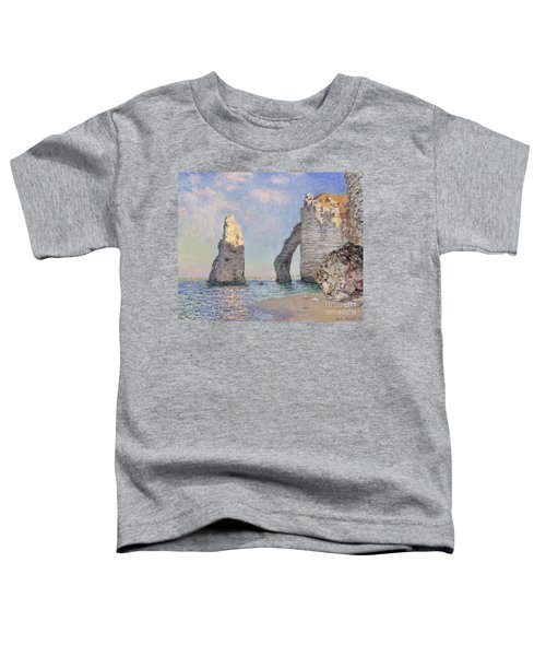 The Cliffs At Etretat Toddler T-Shirt