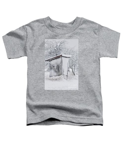 The Coldest Fifty Yard Dash Toddler T-Shirt