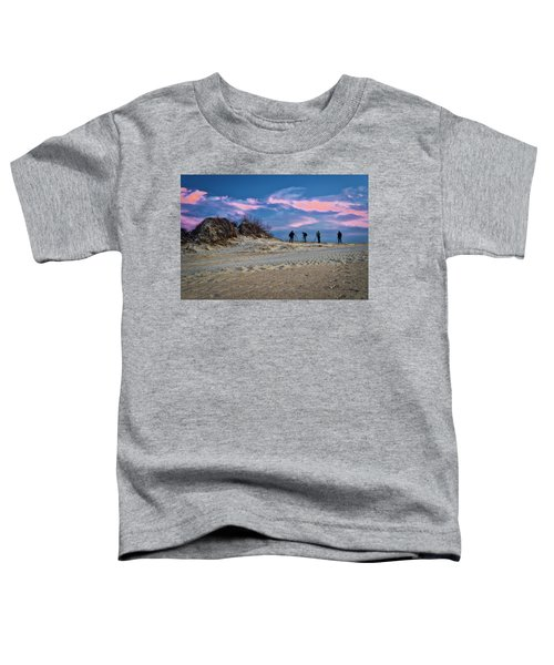 Toddler T-Shirt featuring the photograph The Colors Of Sunset by Donald Brown