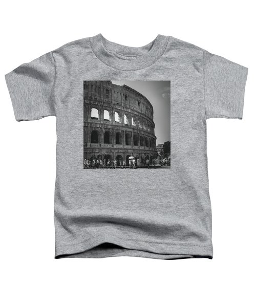 The Colosseum, Rome Italy Toddler T-Shirt