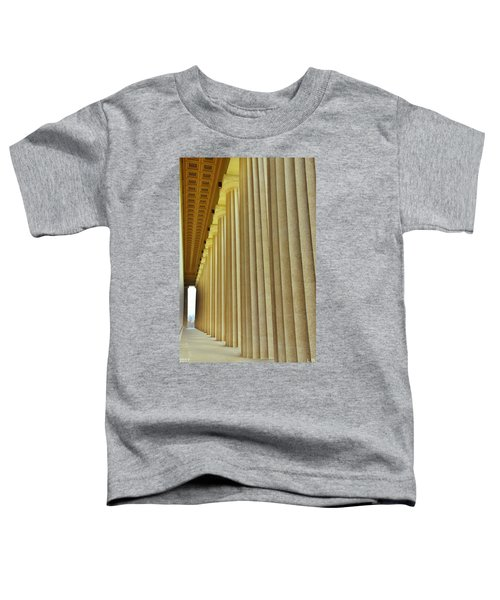 The Columns At The Parthenon In Nashville Tennessee Toddler T-Shirt
