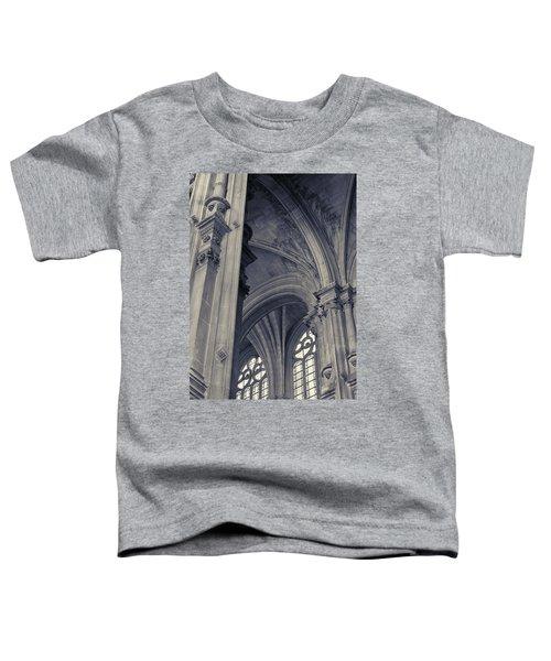 The Columns Of Saint-eustache, Paris, France. Toddler T-Shirt