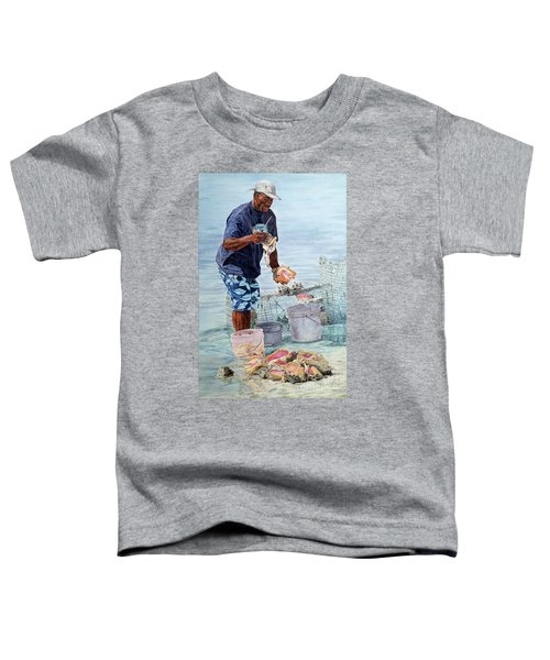 The Conch Man Toddler T-Shirt