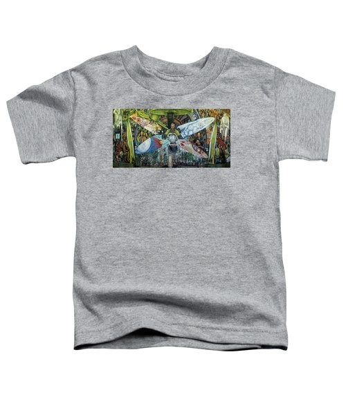 The Man In Control Of The Universe Toddler T-Shirt