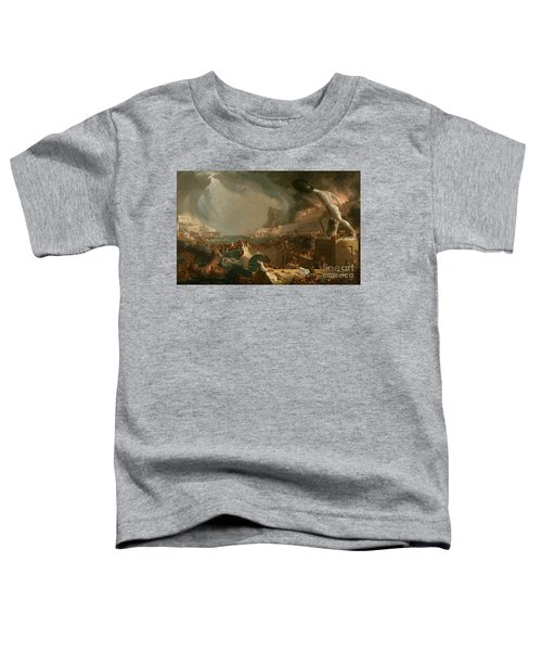 The Course Of Empire Destruction Toddler T-Shirt