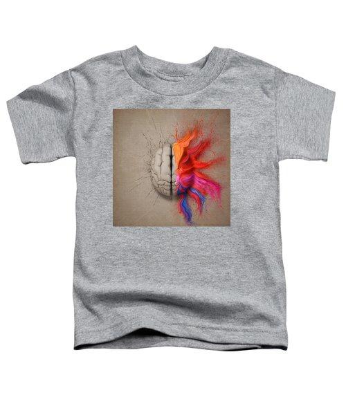 The Creative Brain Toddler T-Shirt