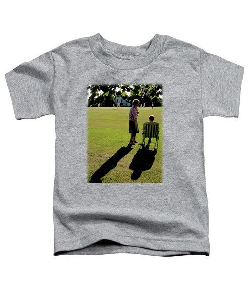The Cricket Match Toddler T-Shirt