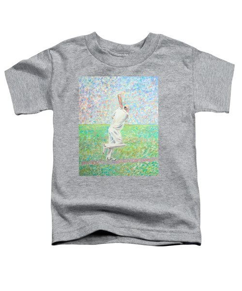 The Cricketer Toddler T-Shirt
