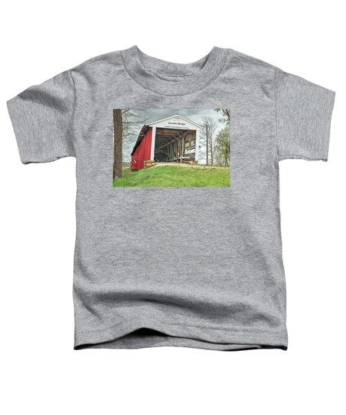 The Crooks Covered Bridge Toddler T-Shirt