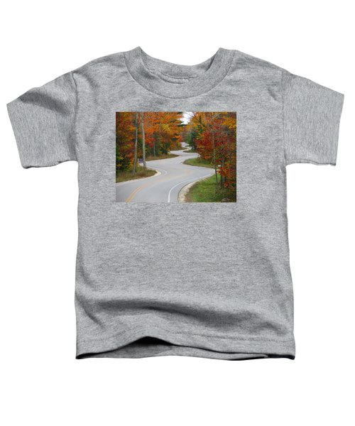 The Curvy Road Toddler T-Shirt