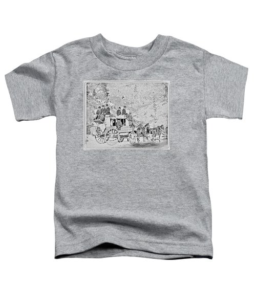 The Deadwood Coach Toddler T-Shirt