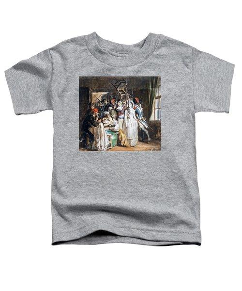 The Death Of Marat Toddler T-Shirt